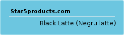 Black Latte (Negru latte)